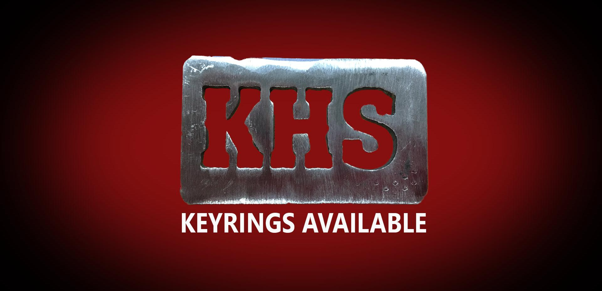 KHS Keyrings available