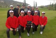 The KHS boys and girls golf teams pose after the state championships in Northern Idaho last week. | Photo by Mr. Gonzales